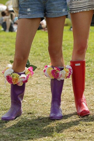 Festival wellingtons
